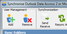 Altsync for Outlook Screenshot