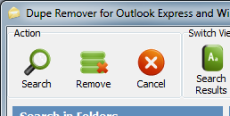 Dupe Remover for Outlook Express and Windows Mail Screenshot