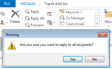 Topalt Reply Reminder for Outlook Screenshot